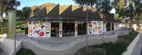 martha rich mural La Sierra University