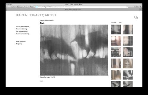 heavybubble websites for artists, newton 2.0, responsive design
