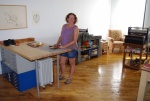 Alice Austin's studio