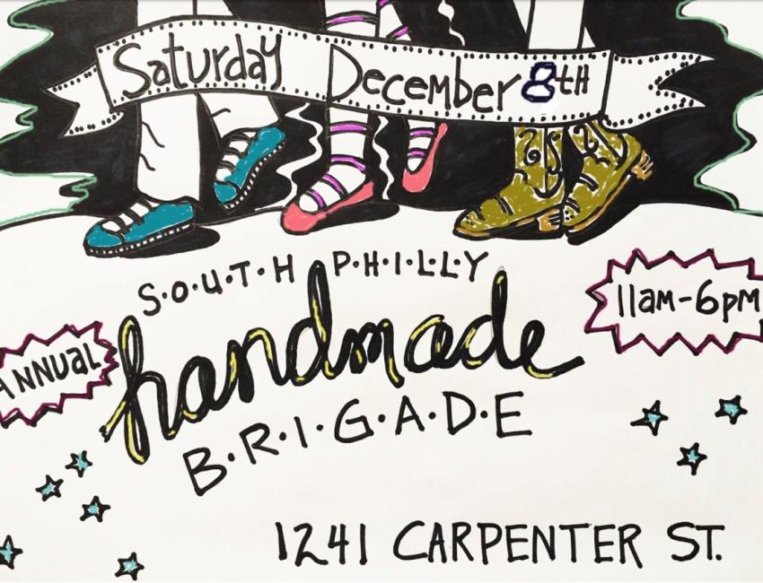 Handmade Brigade at 1241 Carpenter December 8
